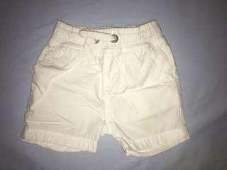 Mothercare White Short Pants