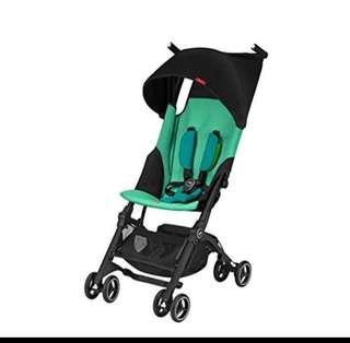 Free Delivery Brand New 2018 GB Gold Pockit+ Plus Lightweight Stroller Authentic Genuine Laguna Blue Pockit