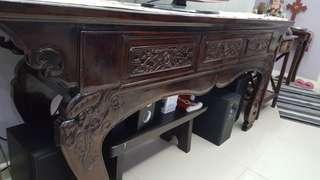 Narra Wood Console Table