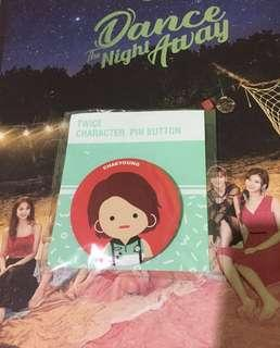Twice Chaeyoung Character Button