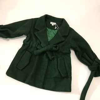 Brand new coat green jacket size 100