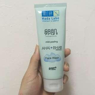 Hada labo tamagohada face wash