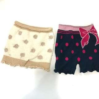 Knitted shorts 2 for 💲20