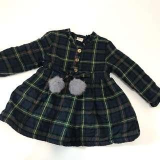 女童連身裙 baby girl dress fit 18-24m