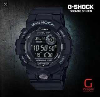 Original NEW G-Shock GBD 800 gshock full black