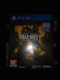 PS4 GAME CALL OF DUTY BLACK OPS 4