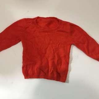 Super soft sweater fit 9-12m