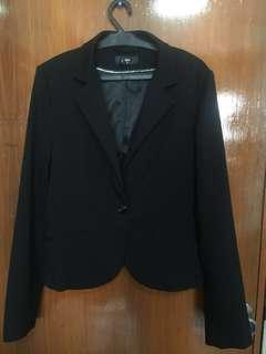 H&M Slim-fit Black Blazer