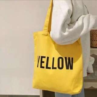 Tote bag tas kuning yellow