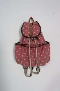 Polka Pink Backpack