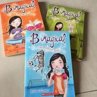 3 buku B Magical