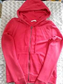 Net ladies Pink hoodie Jacket