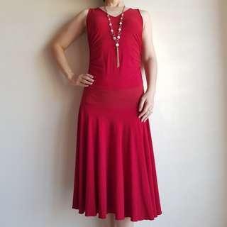 🆕️ Voir Red Midi Dress #CNY888 #CNYRED