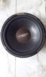 """Dijual subwoofer CARDIAC by PETRAS 12"""""""