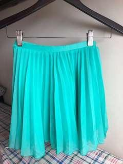Mint green H&M skirt