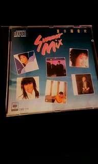 首版CD~Summer Mix 夏日羅曼史 1986 SONY 11+++++