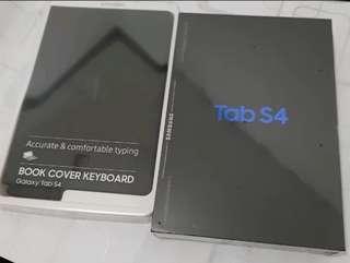 Samsung Galaxy Tab S4  FREE BOOK COVER KEYBOARD Resmi SEIN