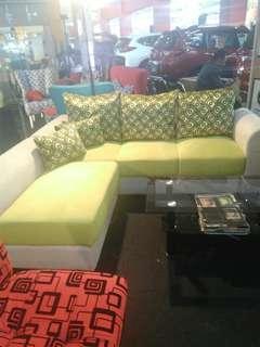 Sofa L nya bisa cicilan tanpa kartu kredit