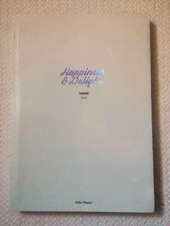EXO CHANYEOL HAPPINESS DELIGHT (HELLO, PUPPY FANSITE PHOTOBOOK)