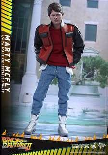 Hot toys marty mcfly back to the future