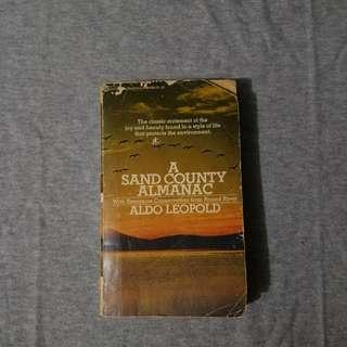 [Pre-loved book] A Sand County Almanac by Aldo Leopold