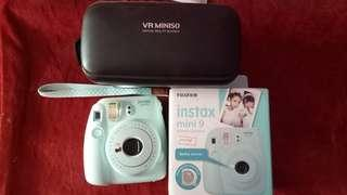 BU Instax Mini 9 + Miniso VR