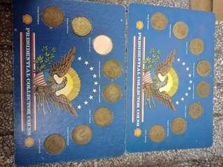 Collectible coins US presidents