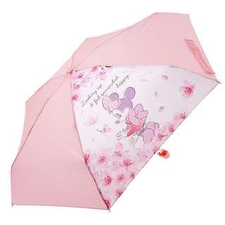 5c631e4cd Japan Disneystore Disney Store Cherry Blossom Minnie Mouse Collapsible  Umbrella Preorder