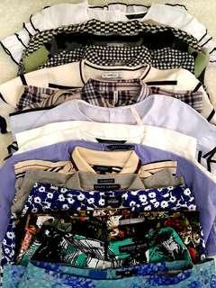 Branded Preloved Clothes - Zara Kate Spade Topshop Burberry Stradivarius Ralph Lauren Uniqlo Marks & Spencer H&M