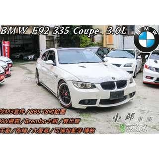 07年 BMW E92 335ci