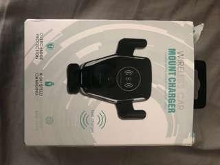 Wireless car mount charger- iPhone 8/8 plus