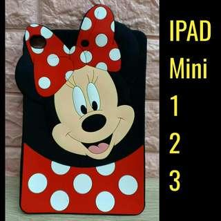 New! 3D Minnie Mouse Inspired Tab Case for iPad Mini 1,2,3