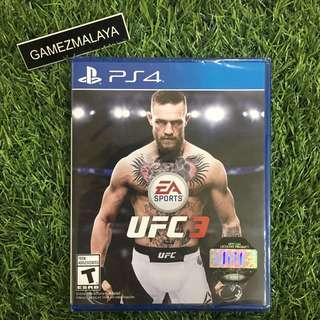 [NEW] PS4 UFC 3 R1 - ACCEPT TRADE-IN   NEW PS4 GAMES (GAMEZMALAYA)