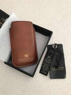 Scotch&Soda - leather phone case