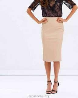 Hailey midi skirt