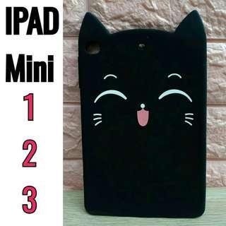 New! 3D Cartoon Happy Cat Tablet Case for iPad Mini 1,2,3