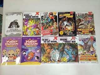 X venture and Happy Dragon comic books for sale