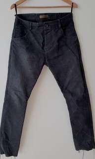 Layer-0 義大利重磅手染休閒褲size-46