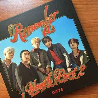 DAY6 - Remember Us: Youth Part 2