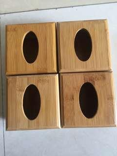🚚 竹質面紙盒 小號面紙盒 尺寸11.2*8.2