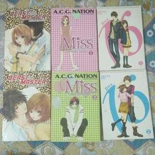manga / manhwa in series
