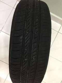 Continental tyre for myvi