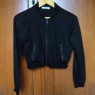 NYLA jaket black (hitam)