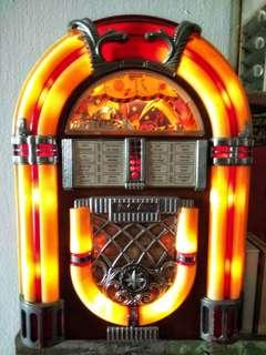 Antique antik jukebox radio