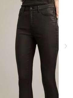 JayJays Skinny High Waist Coated Black Jeans 9