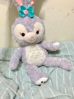 日本迪士尼史黛拉兔兔達菲兔大娃娃80cm玩偶