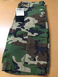 The North Face Urban Explore Camo Green Shorts 迷彩 工裝 短褲 W32