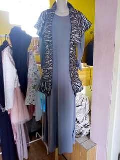 Long dress + outer