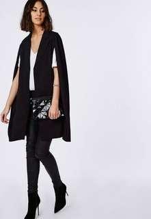 longline cape blazer
