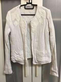 Mango Suit White Jacket